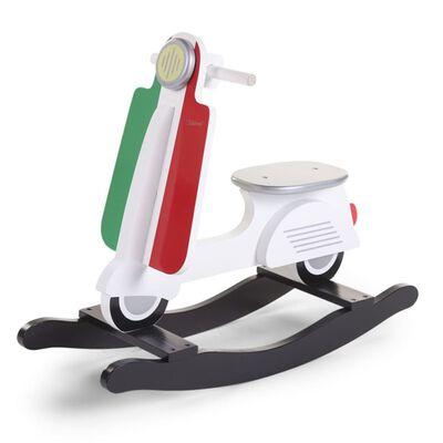 CHILDHOME Hobbelscooter Italië, Multikleur