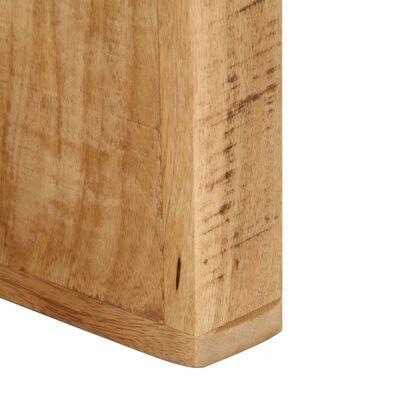 vidaXL Tv-meubel massief mangohout