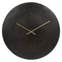 "Gifts Amsterdam Wall Clock ""Moon"" XL Aluminium Black 55,5cm"