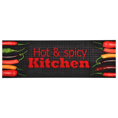 vidaXL Keukenmat wasbaar Hot&Spicy 60x180 cm