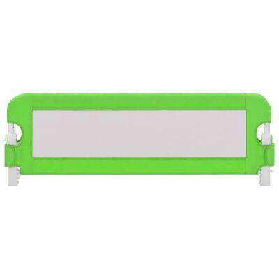 vidaXL Bedhekje peuter 120x42 cm polyester groen