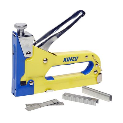 Kinzo Tacker Nietmachine - incl. 1500 Spijkers en Nieten