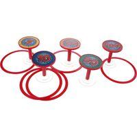 Toi-Toys ringwerpspel 5-delig rood
