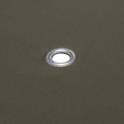 vidaXL Prieeldak 2 lagen 310 g/m²  3x3m taupe