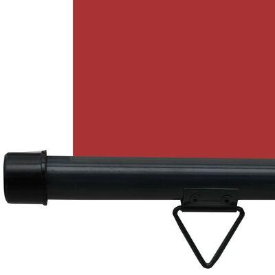 vidaXL Balkonscherm 60x250 cm rood,
