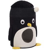 Kerbl Kattengrot Pingu 50 cm zwart en wit
