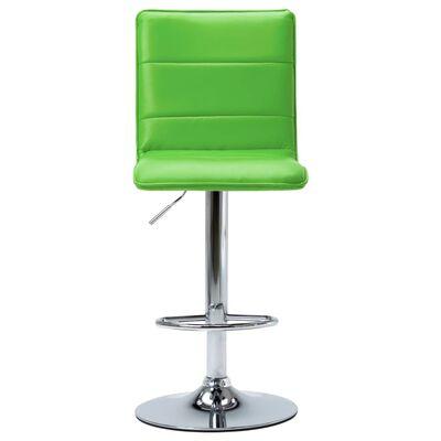 vidaXL Barstoel kunstleer groen