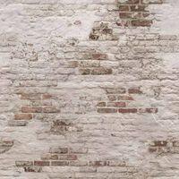 DUTCH WALLCOVERINGS Fotobehang Old Brick Wall beige bruin