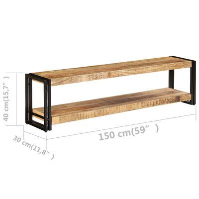 vidaXL Tv-meubel 150x30x40 cm massief mangohout