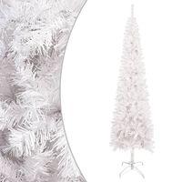 vidaXL Kerstboom smal 180 cm wit
