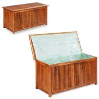 vidaXL Tuinbox 117x50x58 cm massief acaciahout
