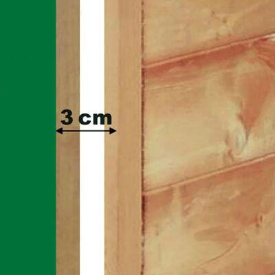Kerbl Hondenhok 4 seizoenen 100x83x94 cm bruin 81349