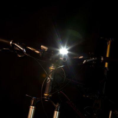 Perel Fietslamp met sensor oplaadbaar 3,7 V