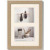 Walther Design Fotolijst Home 2x 15x20 cm bruin