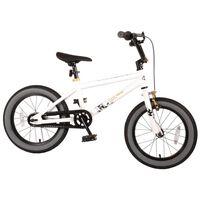 Cool Rider 16 Inch 25,4 cm Jongens Terugtraprem Wit