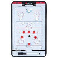 Pure2Improve Coach-bord dubbelzijdig ijshockey 35x22 cm P2I100640