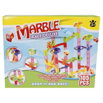 Marble racing Knikkerbaanset 105-delig Deluxe