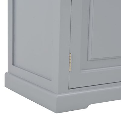 vidaXL Tv-meubel 120x30x40 cm hout grijs