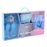 Johntoy IJs prinses verkleedkleding giftset