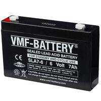 VMF AGM accu Standby en Cyclic 6 V 7 Ah SLA7-6