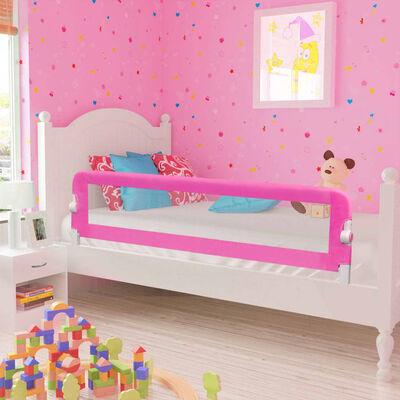 vidaXL Kinderbedhekjes 2 st 150x42 cm roze