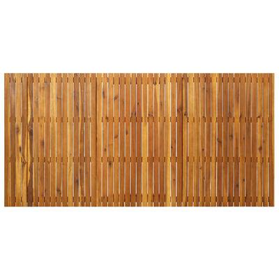 vidaXL Tuintafel 201,5x100x75 cm massief acaciahout