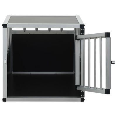 vidaXL Hondenbench met enkele deur 54x69x50 cm