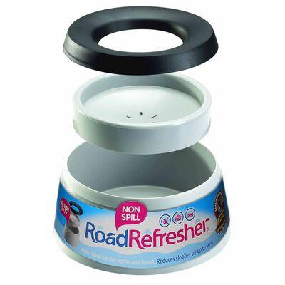 Road Refresher Drinkbak voor huisdieren anti-lek groot grijs LGRR