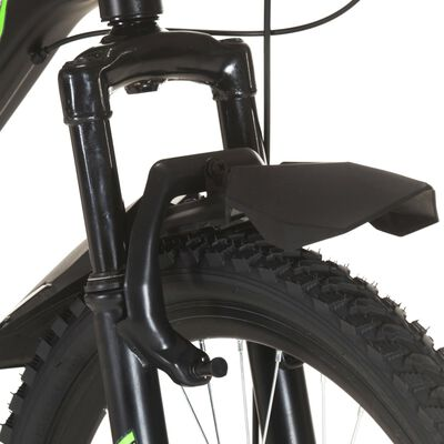 vidaXL Mountainbike 21 versnellingen 26 inch wielen 49 cm zwart
