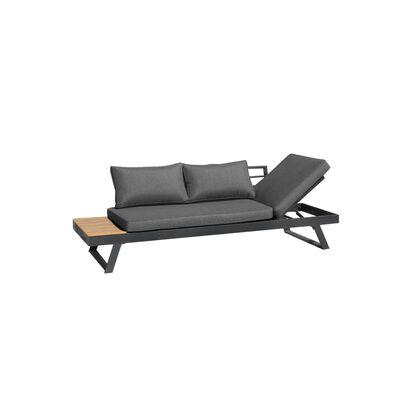 Intimo Garden Giardino 2-in-1 Lounge- En Ligbank - Grijs