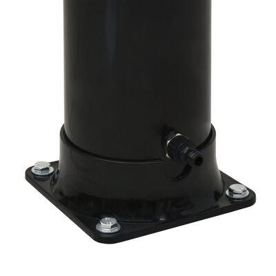 vidaXL Solardouche 20 L 214 cm zwart