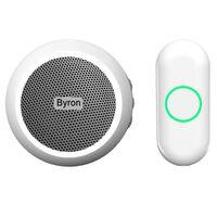 Byron Draadloze plug-in deurbelset wit