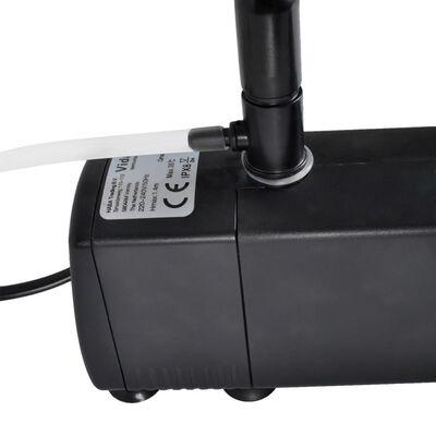 vidaXL Aquarium Filter Pomp met actieve koolstof 800L/u