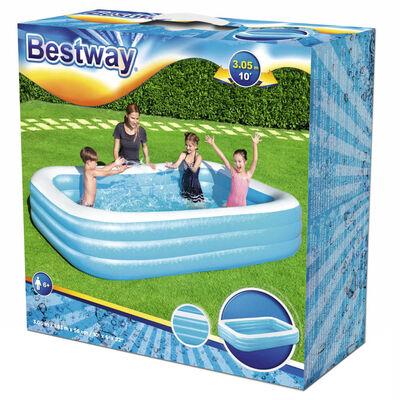 Bestway Zwembad opblaasbaar 305x183x56 cm