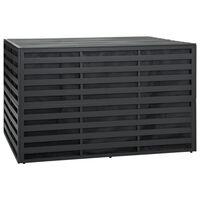 vidaXL Tuinbox 150x100x100 cm aluminum antraciet