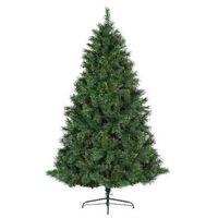 Kunst kerstboom Ontario Pine - 206 tips - groen - 120 cm