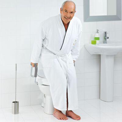 RIDDER Toiletbril met handgreep 150 kg wit A0072001