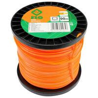 FLO Maaidraad Extranyl 2,4 mm 90 m oranje