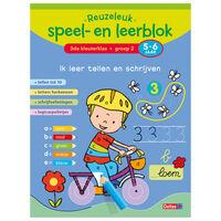 Deltas educatief speel- en leerblok Ik leer tellen en schrijven 21 cm