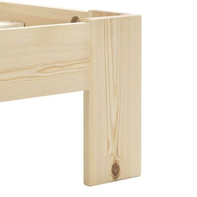 vidaXL Bedframe massief grenenhout 180x200 cm