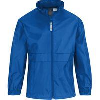 Regenkleding voor jongens/meisjes kobaltblauw - Sirocco