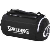 Spalding Duffle Bag sporttas zwart/wit 40L