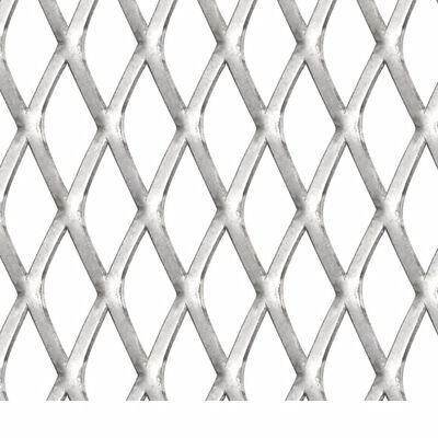 vidaXL Draadhek 50x50 cm 45x20x4 mm roestvrij staal