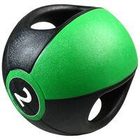 Pure2Improve Medicijnbal met handvatten 2 kg groen
