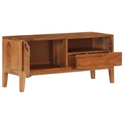vidaXL Tv-meubel 88x30x40 cm massief acaciahout