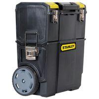 Stanley mobiele gereedschapswagen kunststof zwart 1-70-326