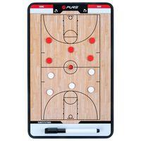 Pure2Improve Coach-bord dubbelzijdig basketbal 35x22 cm P2I100620