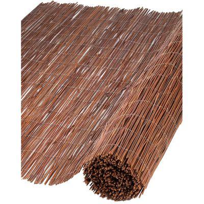 Nature Tuinscherm 1x5 m 5 mm dik wilgen