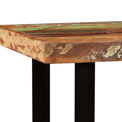 vidaXL Bartafel 120x60x107 cm massief gerecycled hout