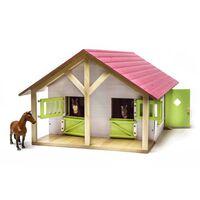 Kids Globe Boerenstallen met 2 boxen en 1 werkplaats 1:24 610168